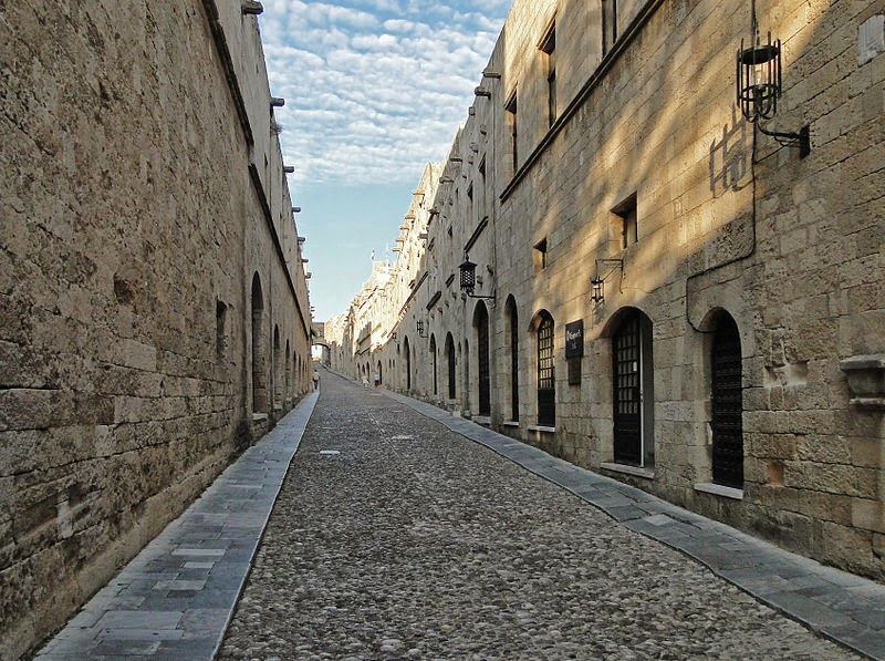 Street of Knights. Rhodes. Greece.