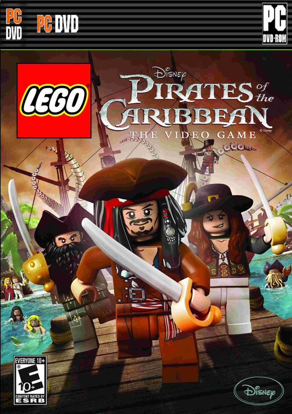 Lego Pirates of the Caribbean Download Cover Free Game