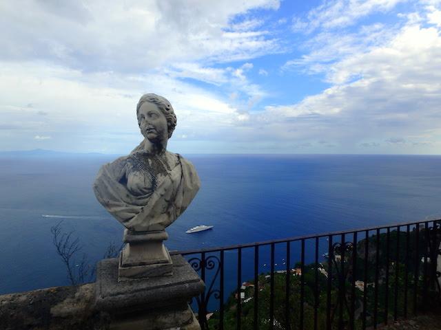 Terrace of Infinity Villa Cimbrone Ravello