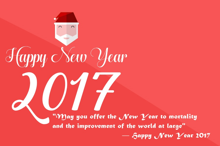 Happy New Year Wishes for Friends 2017