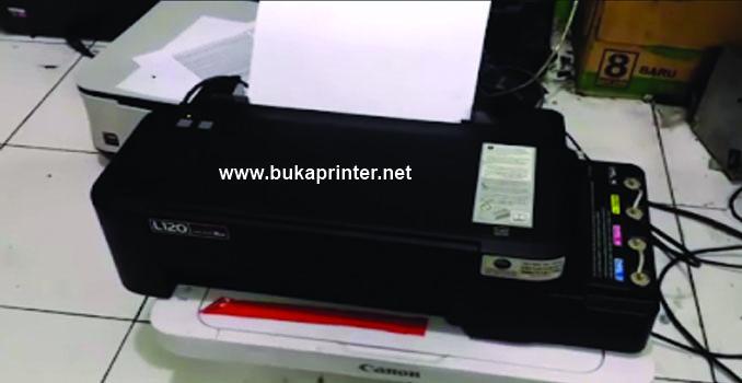 Terbaru Cara Mengatasi Printer Epson L120 Service Required
