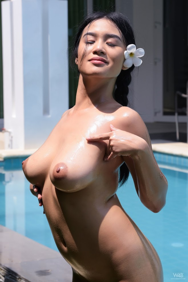 [Watch4Beauty] Kahlisa - Fun By The Pool sexy girls image jav