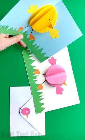 Weihnachtskarten Origami.Weihnachtskarten Basteln Tipss Und Vorlagen