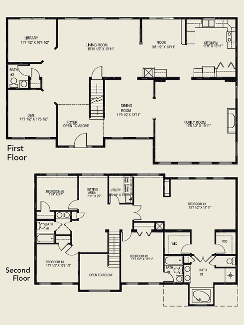 2 Story House Plans With 4 Bedrooms