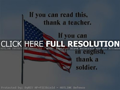 Happy Memorial Day 2016: if you can read this, thank a teacher, if you can