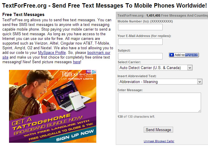 Top 5 Websites To Send Free Text Messages – Migliori Pagine da Colorare