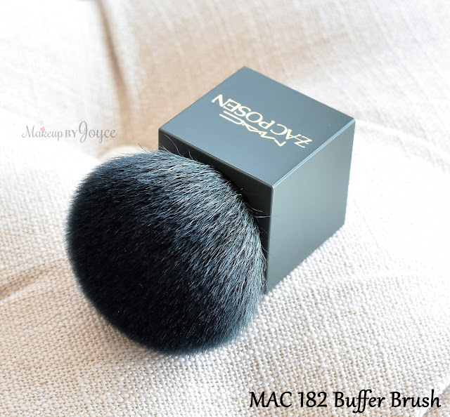 MAC 182 Domed Buffer Brush Limited Edition Zac Posen Review