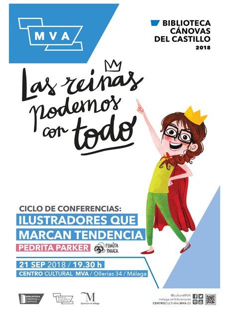 Conferencia de Pedrita Parker en Málaga