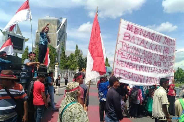 Warga Desa Koto Aman Tagih Janji Presiden Jokowi