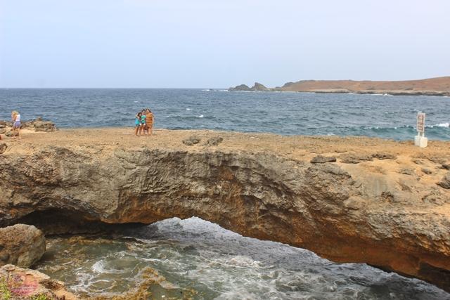 Natural Bridge em Aruba