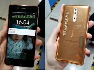 Harga Nokia 8 Bocor Menjelang Peluncuran Resmi