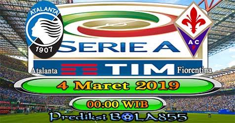 Prediksi Bola855 Atalanta vs Fiorentina 4 Maret 2019