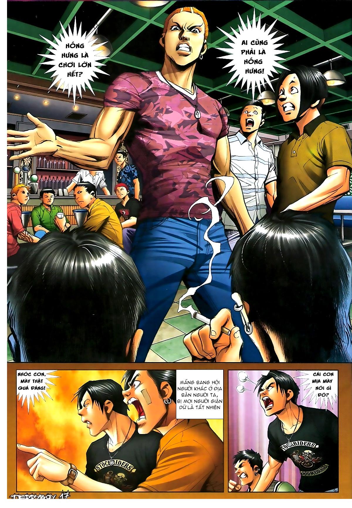 Người Trong Giang Hồ - Chapter 1347: Lý Chí Cao vs Sinh Tư - Pic 16