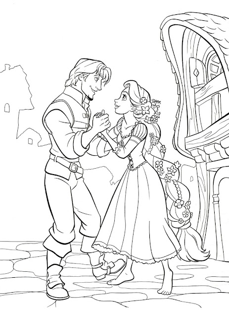Related Post From Tangled Prince Flynn Ryder Coloring