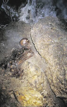 Pérou: découverte d'un cimetierre Chachapoya