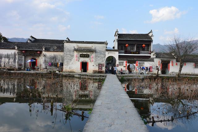Bassin à Hongcun