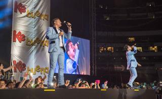 Los Recoditos en concierto de la Ke Buena | Ximinia