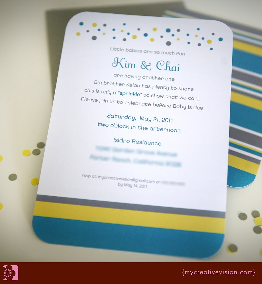 Kara's Party Ideas Sprinkle Party {Baby Shower}