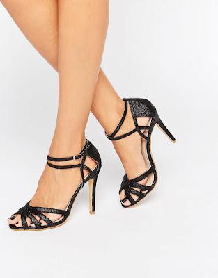 zapatos negros para novias