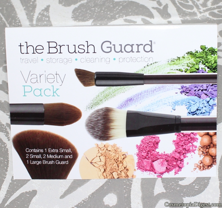 Why you need the Brush Guard to protect your makeup brushes.