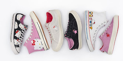 Hello Kitty Converse @ Fashionolic