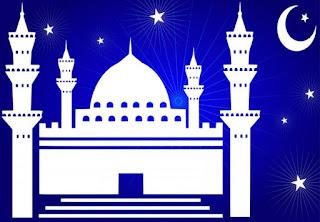 Gambar Kartun Masjid Cantik dan Lucu 201703