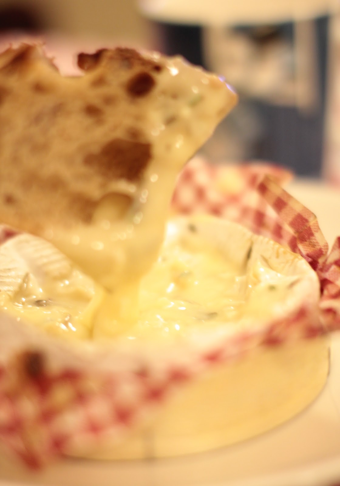 Camembert Uunissa