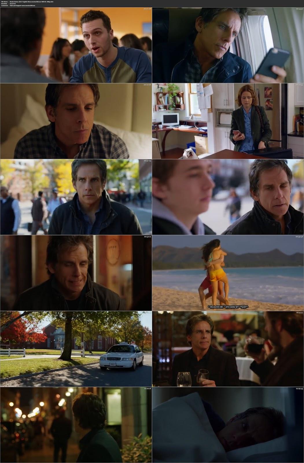 Brads Status 2017 Hollywood 300MB WEB DL 480p at movies500.bid
