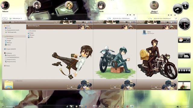 Kino no Tabi: The Beautiful World Theme Win 7 by Andrea_37