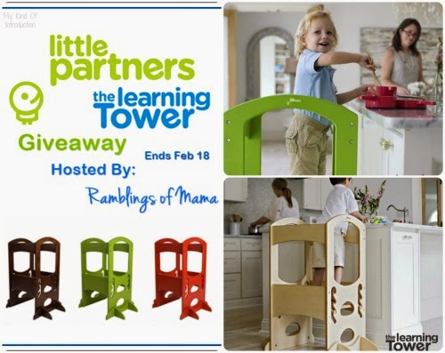 The Learning Tower Giveaway