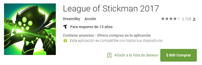 League of Stickman 2017