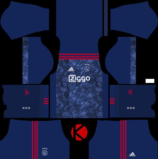 Ajax Amsterdam Kits 2017 2018 - Dream League Soccer - Kuchalana 28e3bb634