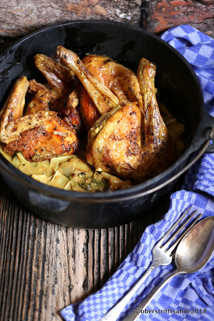 Huhn in Currysauce