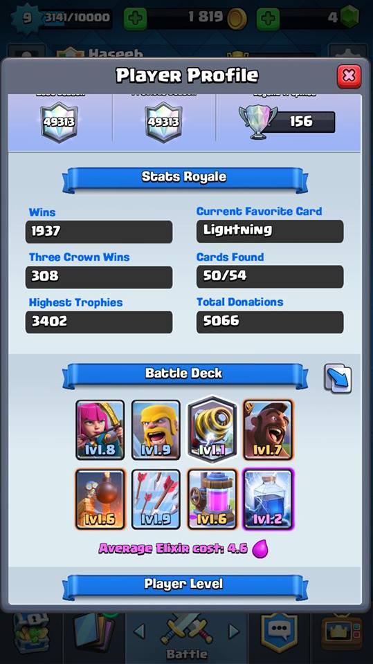 Clash royale sparky deck