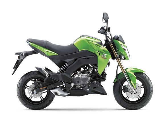 Kawasaki Z125 Green Street Fighter mini