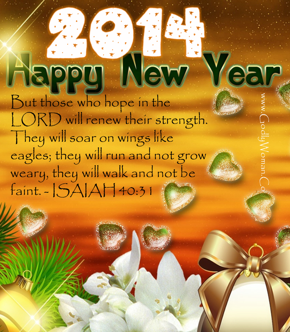 Happy New Year - Bible Promises for the Year 2014 ...