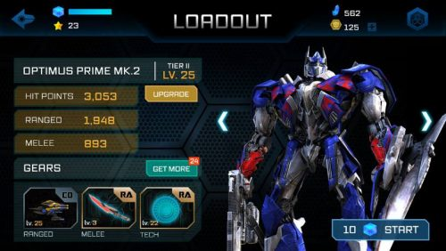 Download APK Transformers: Age of Extinction