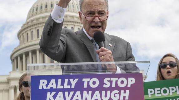 Schumer, Democrats wrestled over staging mass Kavanaugh walkout