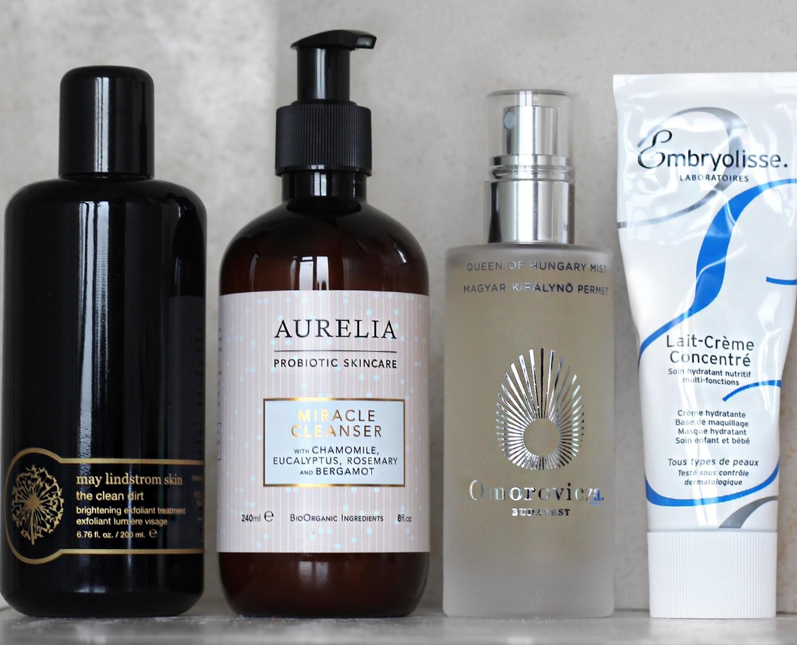 Ingredients in skincare
