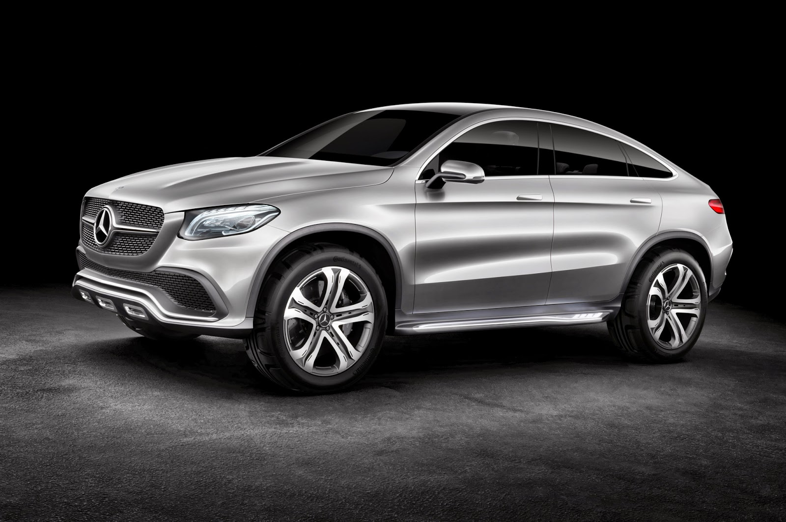 2017 Mercedes Benz Concept Coupé Suv Hybrid Cars