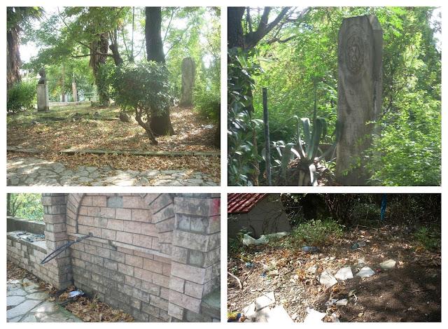 Παραμυθιά: Εικόνες εγκατάλειψης και διάλυσης στο πάρκο Γαλατά