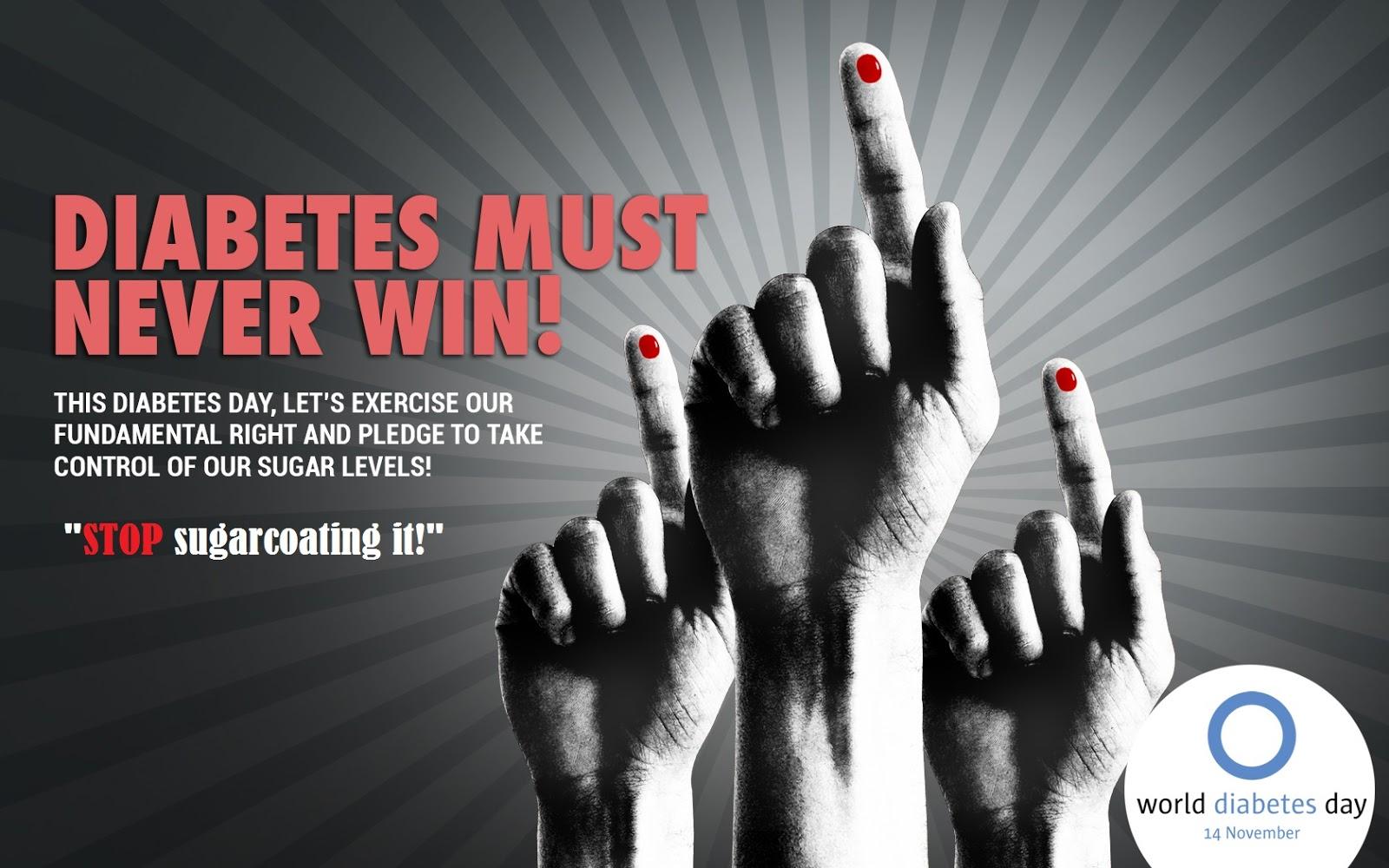 slogans on diabetes awareness