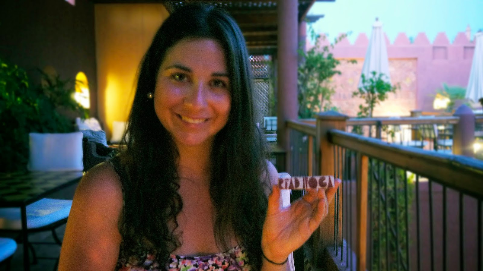 Simone at Riad Noga Marrakesh