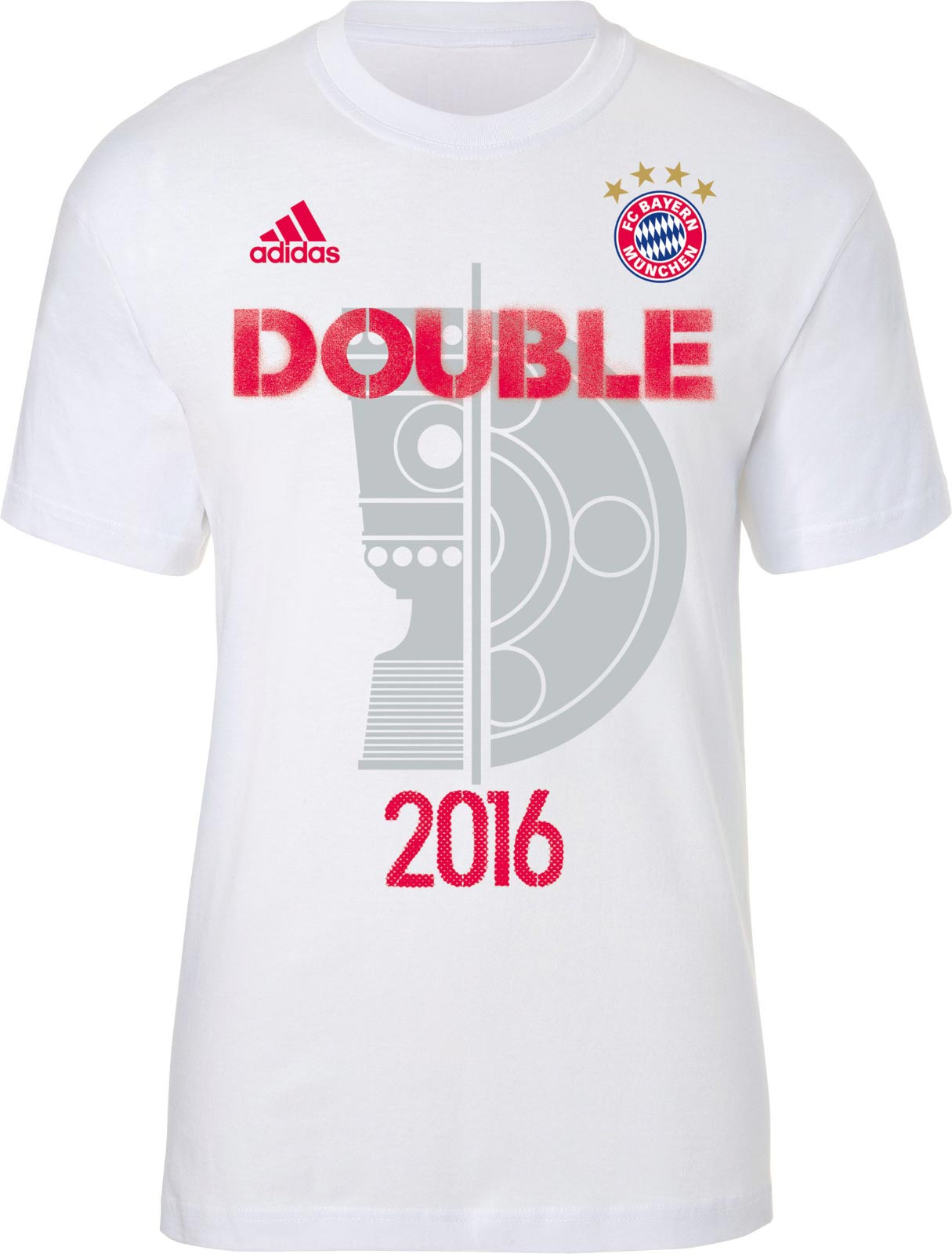 bayern munich 2016 double shirt unveiled footy headlines. Black Bedroom Furniture Sets. Home Design Ideas