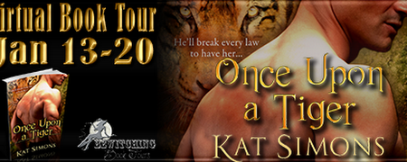 Review & Giveaway - Once Upon a Tiger by Kat Simons