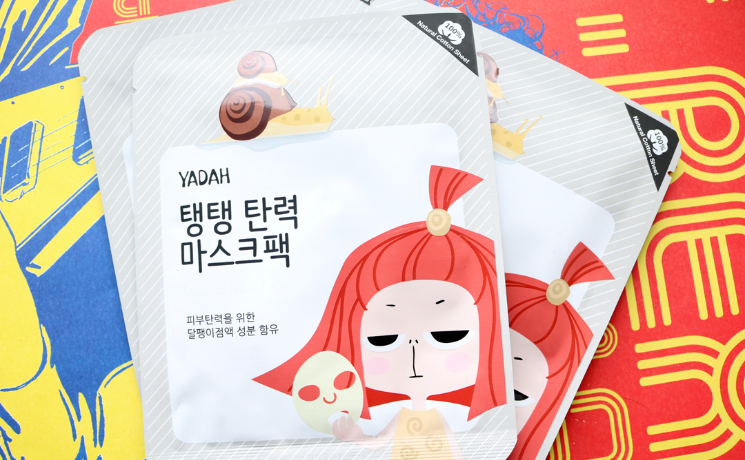 YADAH Self Care Collagen Sheet Masks