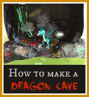 Craft - How to make a dragon cave and magic dragon egg