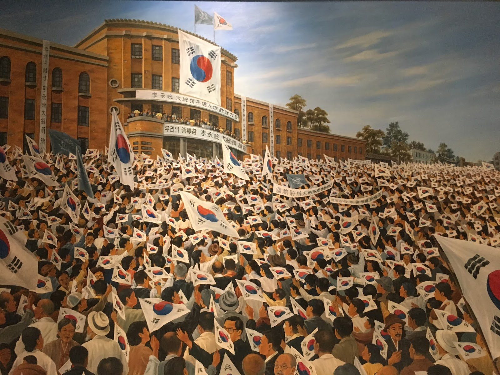 the rich history of korea and its split The two countries were culturally identical before they were split into the stark differences between north and south korea history: south korea's monument.