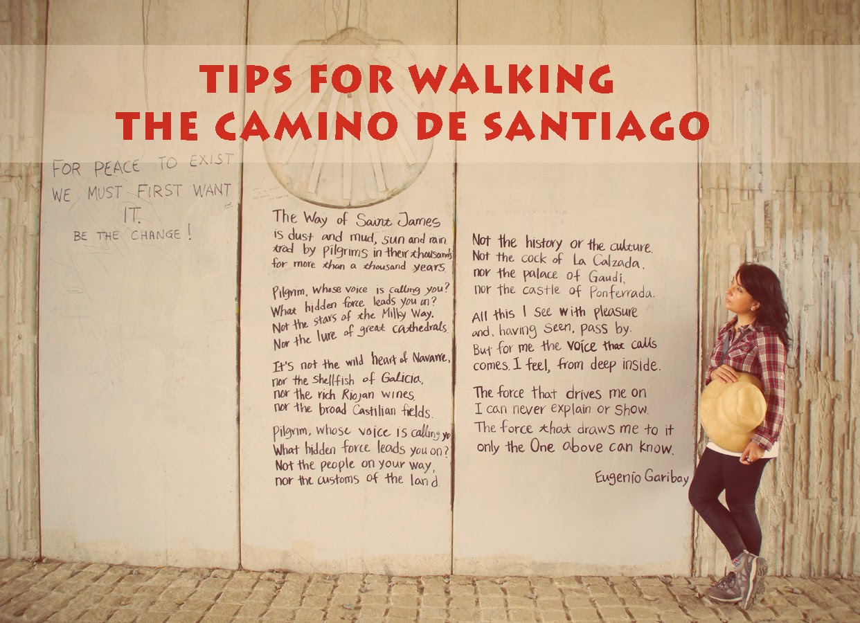 tips+for+walking+the+camino+de+santiago