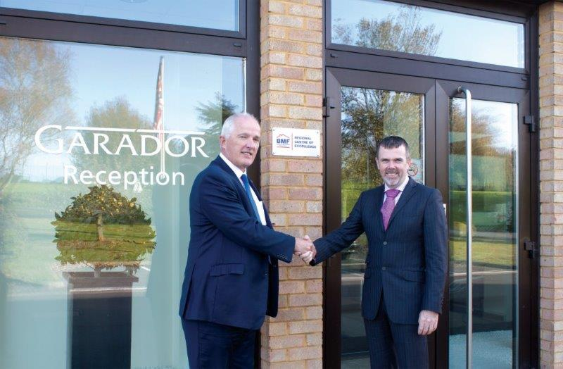 Garador Now A Recognised Bmf Centre Of Excellence Garage Doors